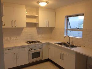 new kitchen, cupboards, design, installation
